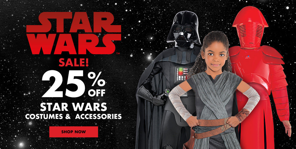 25% off all costumes & accessories Shop Now!