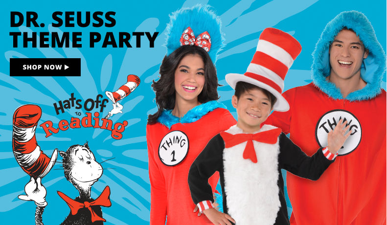 Dr. Seuss Theme Party Party Shop Now