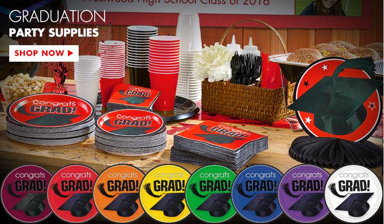 Graduation Party Supplies