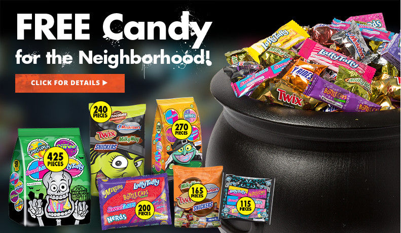 Free Candy For the Neighborhood