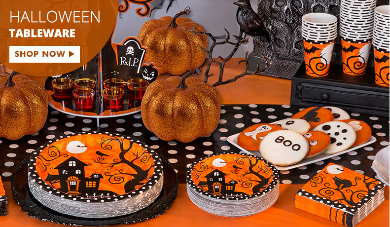 Halloween Tableware & Party Themes