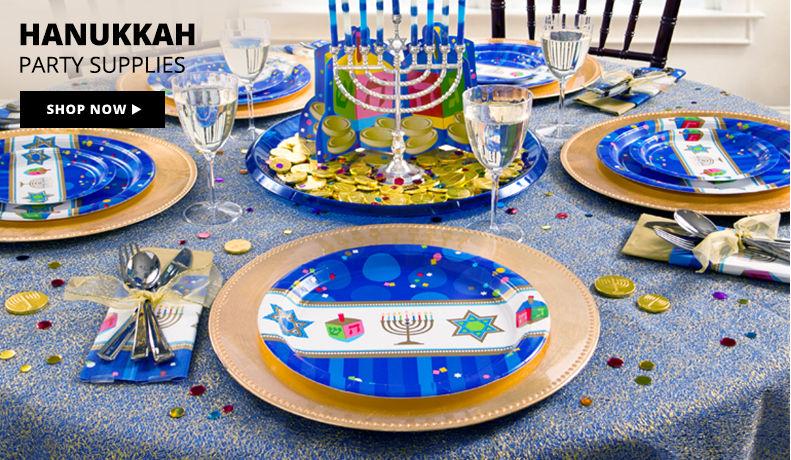Hanukkah Party Supplies Shop Now