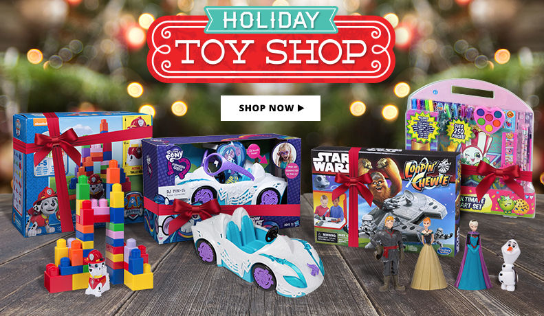 Holiday Toys & Games Shop Now
