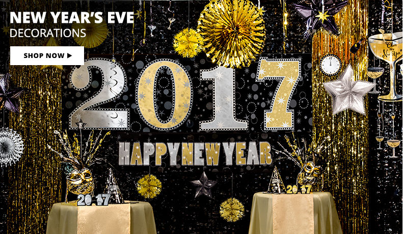 New Year's Eve Decorations Shop Now