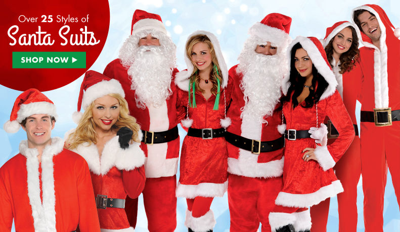 Santa Suits, Santa Hats & more