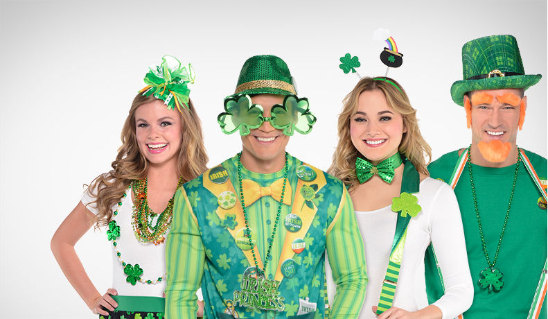 St. Patrick's Day Hats, Headbands & Accessories