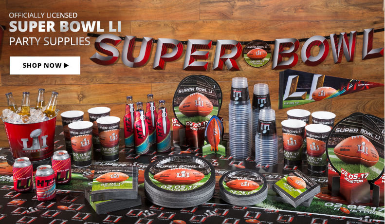 Super Bowl Party Supplies Shop Now
