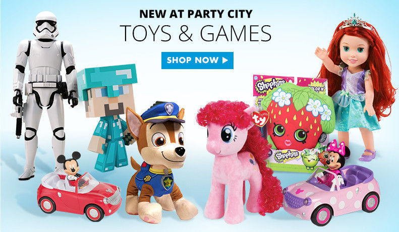 New At Party City Toys & Games