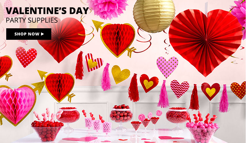 Valentine's Day Party Supplies Shop Now