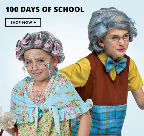 Shop Now 100 Days of School