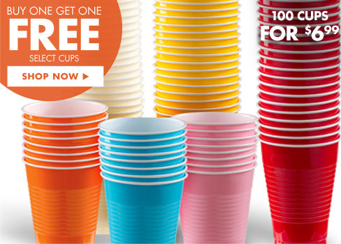 Buy One Get One Free Select Cups