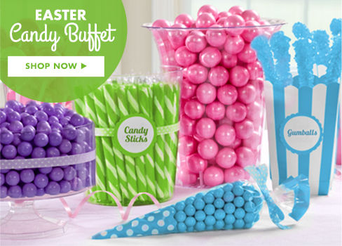 Easter Candy Buffet