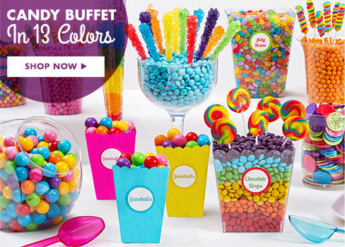 Candy Buffet in 13 Colors