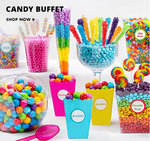 Shop Now Candy Buffet