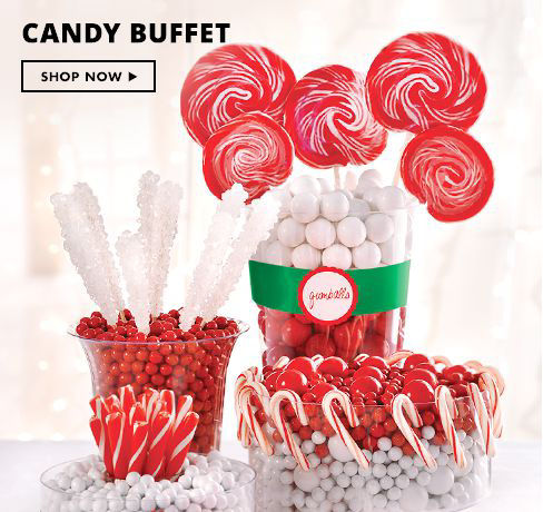 Shop Now Christmas Candy Buffet