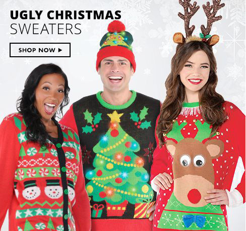 Shop Now Ugly Christmas Sweaters