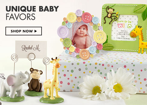 Unique Baby Favors