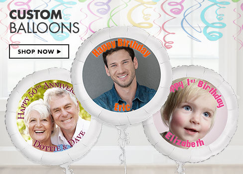 Custom Photo Balloons
