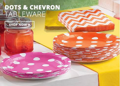 Polka Dot & Chevron Party Supplies
