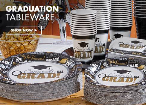 Graduation Tableware