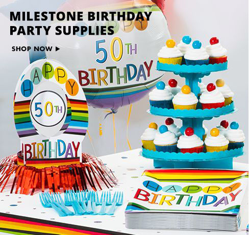 Happy Birthday Party Supplies Shop Now