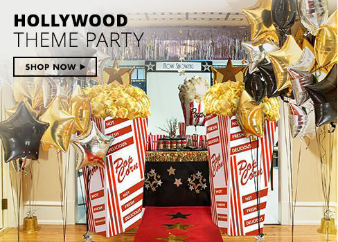Shop Now Hollywood Theme Party