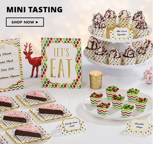 Shop Now Christmas Mini Tasting Party