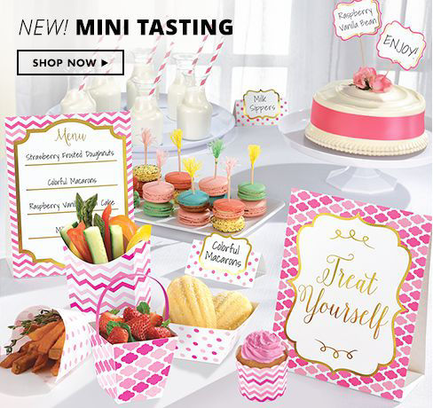 Shop Now New Mini Tasting
