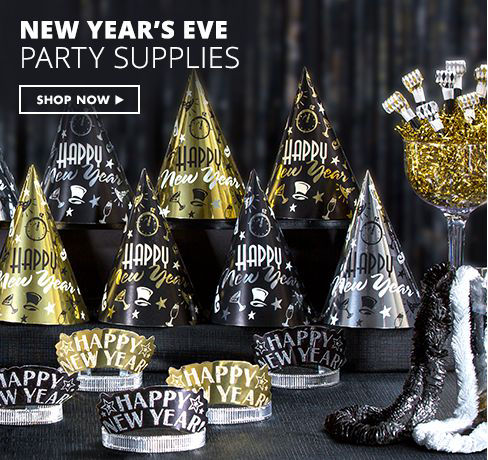 New Year's Party Supplies Shop Now