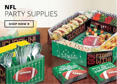 Shop Now NFL Party Supplies