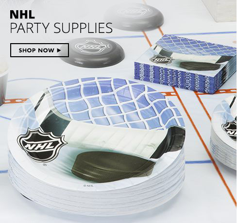 Shop Now NHL Party Supplies