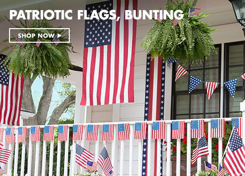 Flags, Bunting, Bows