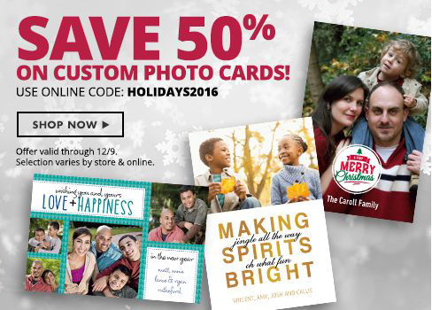 Shop Now Christmas Photo Cards