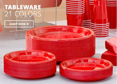 Shop Now Tableware - 21 Colors