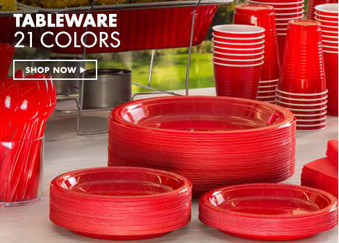 Tableware 21 colors