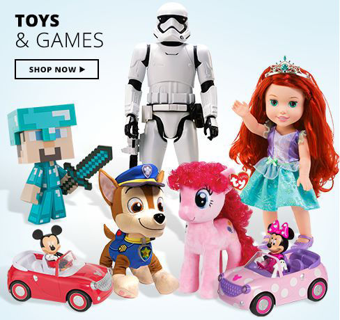 Toys & Games Shop Now