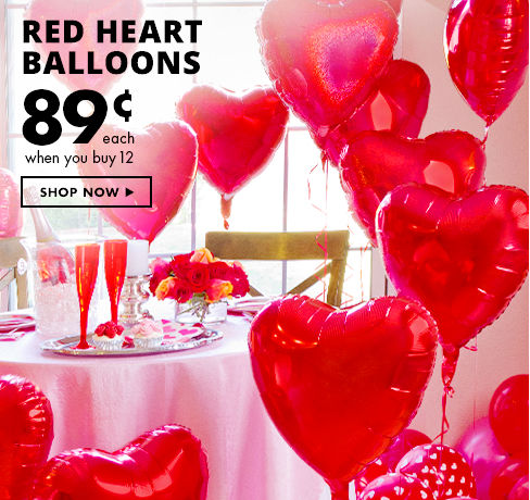 Valentine's Balloons Shop Now