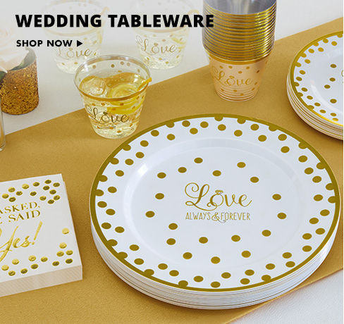 Premium Wedding Tableware Shop Now