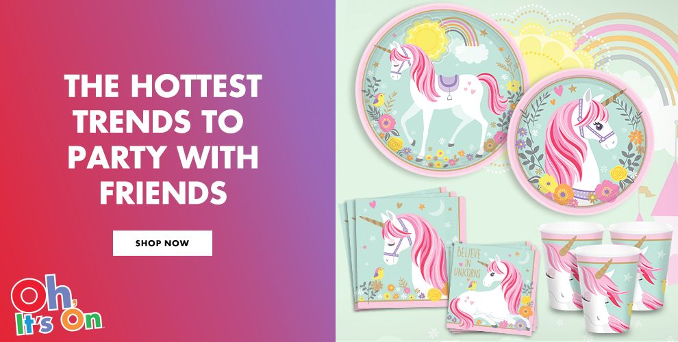 The Hottest Trends to Party With Friends Shop Now