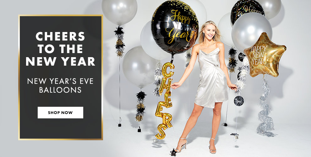 New Years Balloons Shop Now