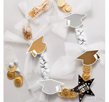 Graduation Candy Lei Idea