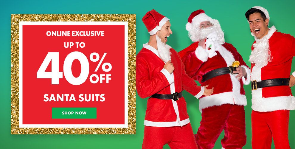 Up to 40% off Santa Suit