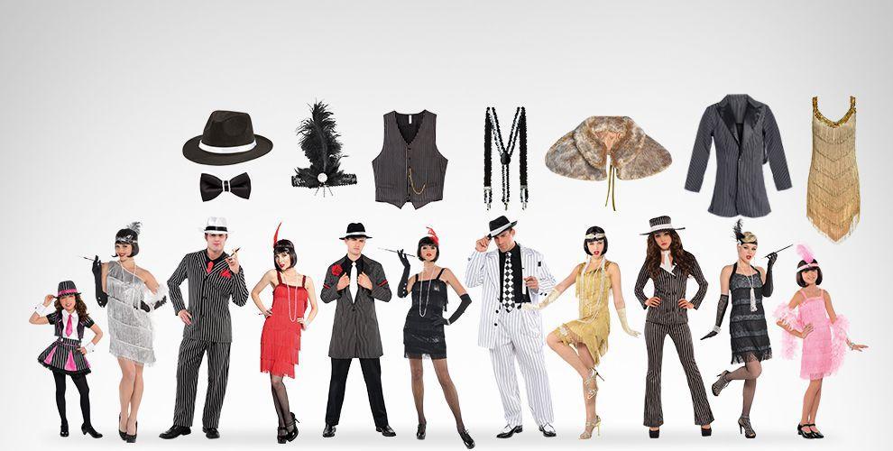 20s Theme Costumes & Accessories