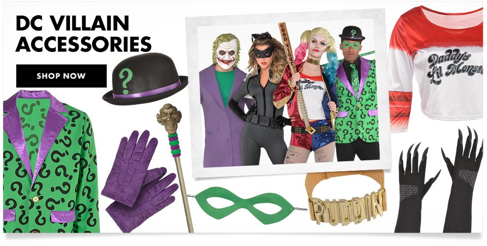 DC Villain Accessories