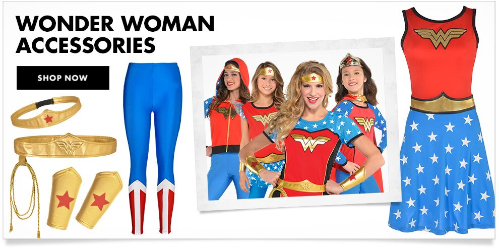 Wonder Woman Costume Accessories