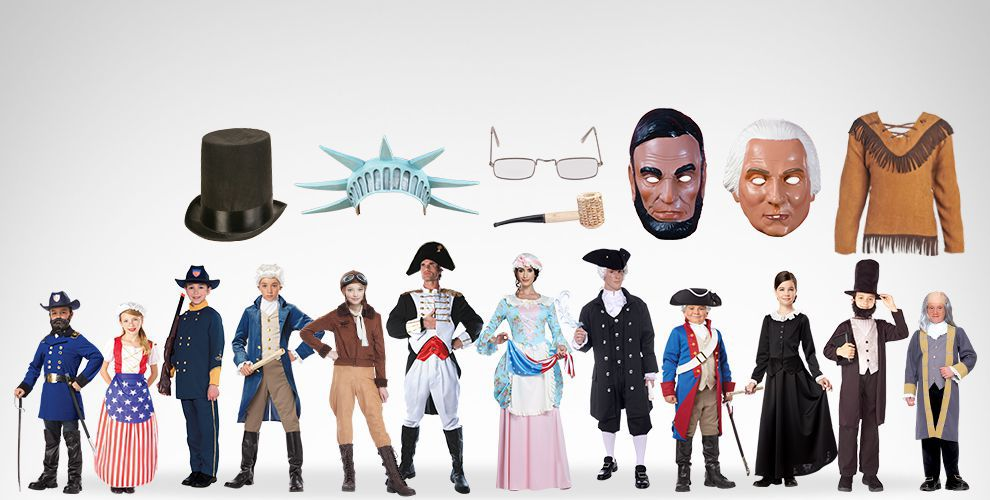 Heroes in History Colonial & Historical Costume Accessories