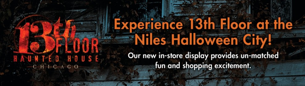 Experience 13th Floor at the Niles Halloween City!