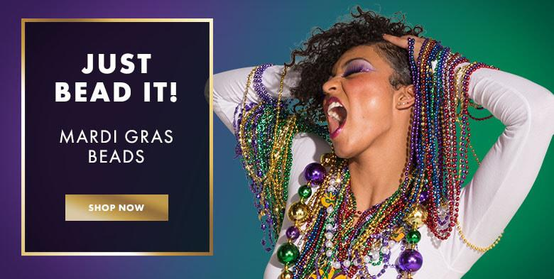 Just Bead It! Mardi Gras Beads & Throws. Shop Now