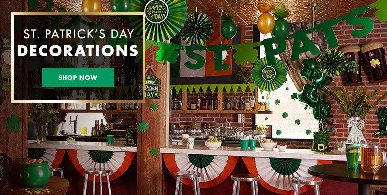 St. Patrick's Day Decorations Shop Now