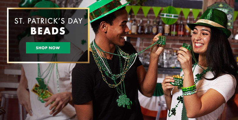 St. Patrick's Day Beads & Jewelry Shop Now